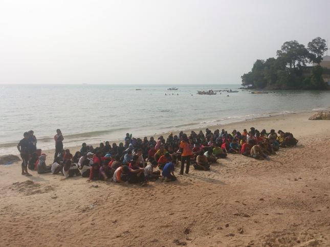 Persisir pantai Purnama